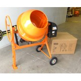 Concrete Mixer 180L  800W 230v Heavy Duty - Self assembly
